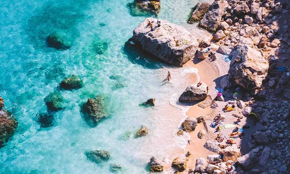 Cala Goloritzé, Sardínia